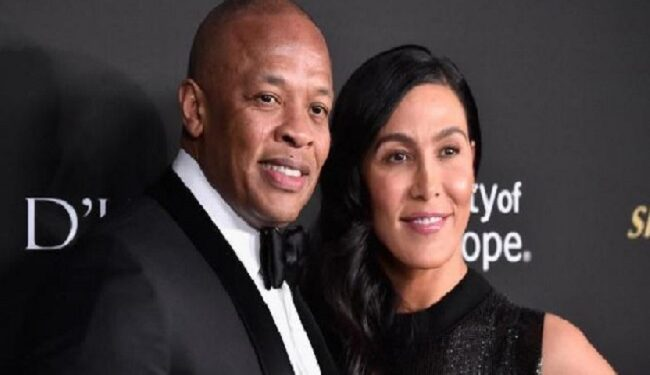 Dr Dre and Wife Nicole Young