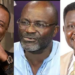 Duncan Williams , Kennedy Agyapong and Bishop Charles Agyin Asare.