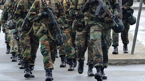 File photo: Ghana Armed Forces