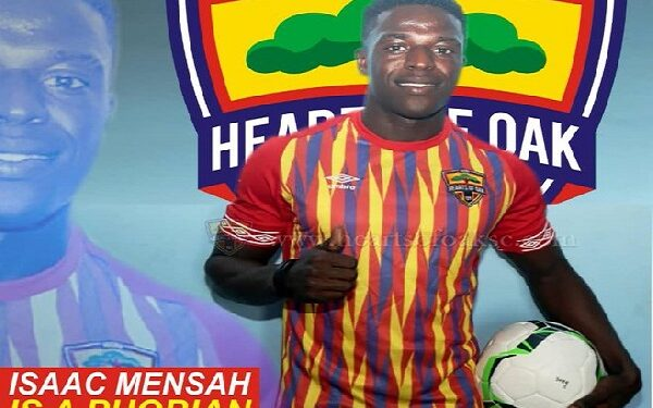 Mensah signed for the Phobians on a three-year deal from second-tier side  Nkoranza Warriors