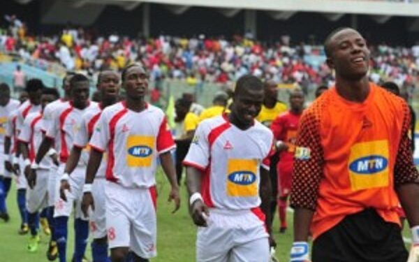 Kotoko lost 1-0 to Nania in the 2011 FA Cup final