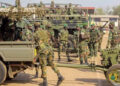 Military men have been deployed to the border regions