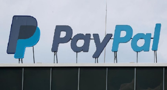 The German headquarters of the electronic payments division PayPal is pictured at Europarc Dreilinde