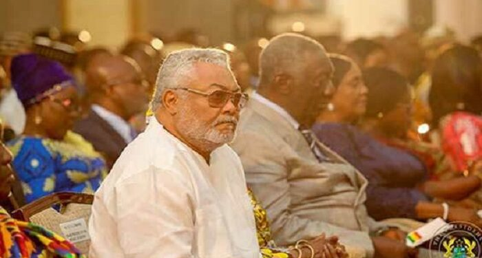Former Presidents Rawlings and Kufuor