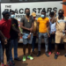 Ghanaian players released after 14 days quarantine