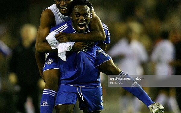 Essien and Mikel were part of Chelsea's Golden Generation