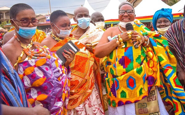 Bawumia stressed Akufo-Addo's belief in the Chieftaincy institution at the inauguration