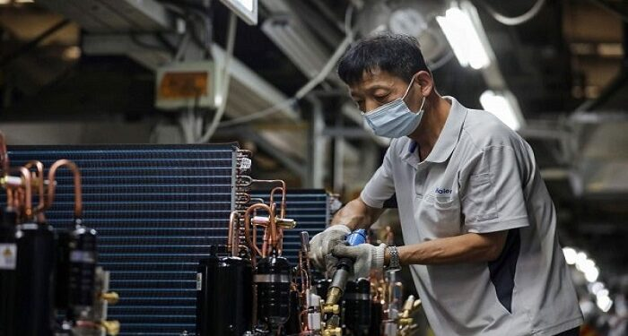 China's industrial output accelerated the most in eight months in August