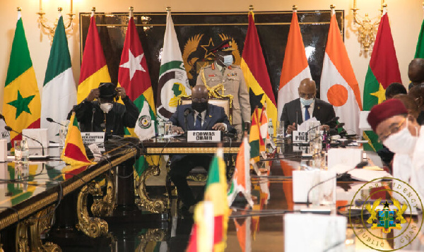 ECOWAS met on Mali's political crisis yesterday