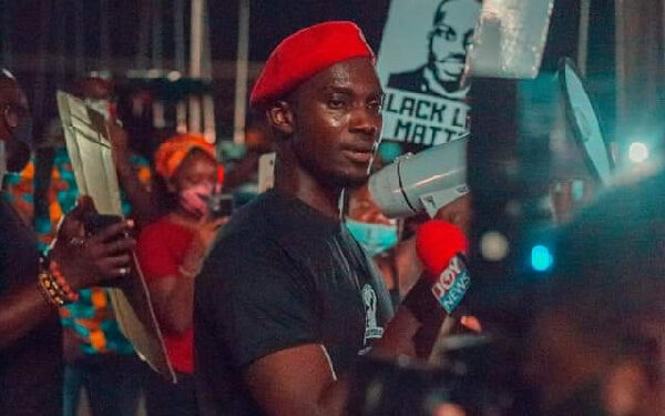Ernesto Yeboah is Leader of the Economic Fighters League