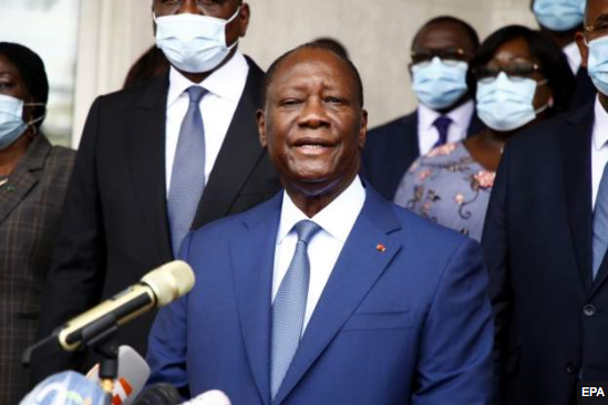 President Alassane Ouattara has been nominated by the ruling party for a third term