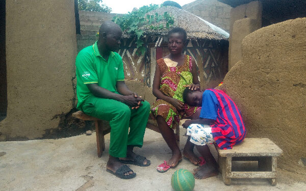 Albert Aburipoore's mother is suffering from a chronic kidney disease