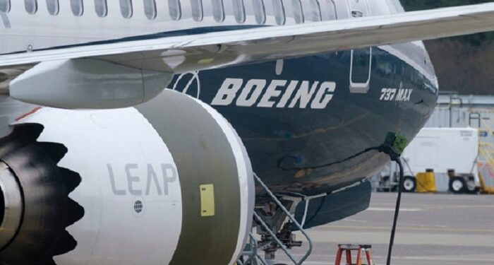 American aircraft manufacturer, Boeing
