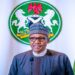 Nigerian President Muhammadu Buhari addresses the nation on the coronavirus disease (COVID-19), in Abuja, Nigeria March 29, 2020. Nigeria Presidency/Handout via REUTERS ATTENTION EDITORS- THIS IMAGE HAS BEEN SUPPLIED BY A THIRD PARTY