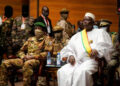 Coup leader Colonel Assimi Goita (L) is President Bah Ndaw's (R) deputy (Getty Images)