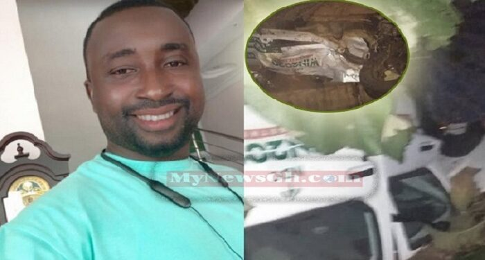 Kojo Nomoah died in a gory accident on Saturday