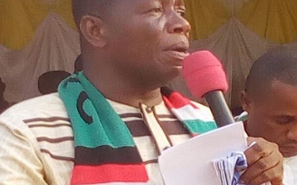 NDC Parliamentary Candidate for Gomoa Central Constituency, Moses Jehu Appiah