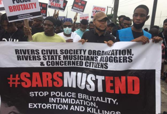 The demonstrations have been largely peaceful and led by young Nigerians