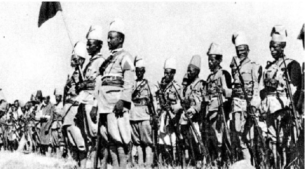 The soldiers were utilized for the purpose of Italy's imperialism in East Africa