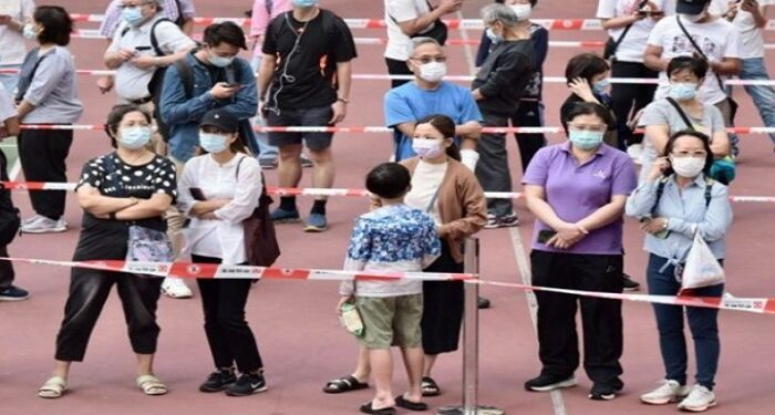 Hong Kong has seen a spike in new Covid-19 cases
