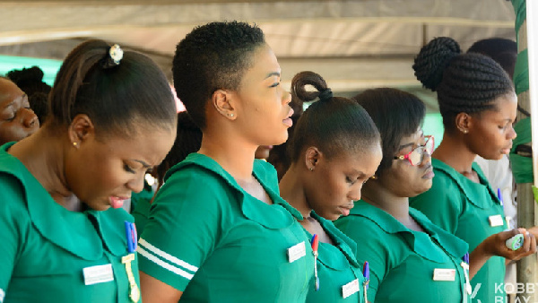 File photo: Nurses have reached a consensus with government and the Fair Wages and Salaries Commission