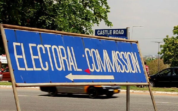 File photo of a Directional sign of the EC