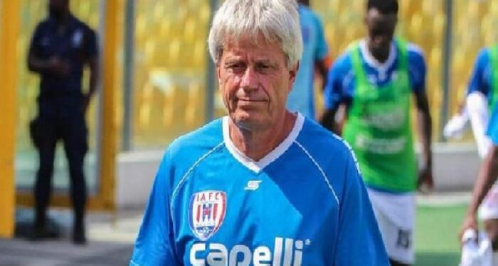 Inter Allies head coach, Henrikh Lehm