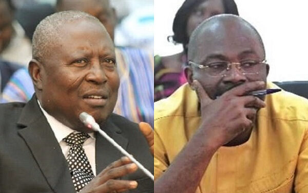 Martin Amidu and Kennedy Agyapong