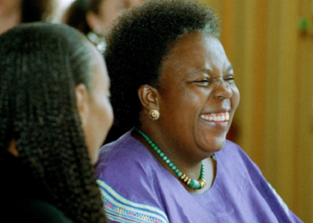 Gertrude Mongella aka Mama Beijing who chaired the historic Beijing conference on women in 1995. Photo: UN