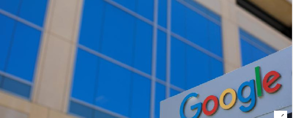 A Google sign is shown at one of the company's office complexes in Irvine, California,REUTERS/Mike B