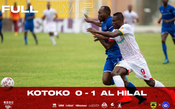 CAF Champions League Match Report: Asante Kotoko 0-1 Al Hilal - The  Independent Ghana