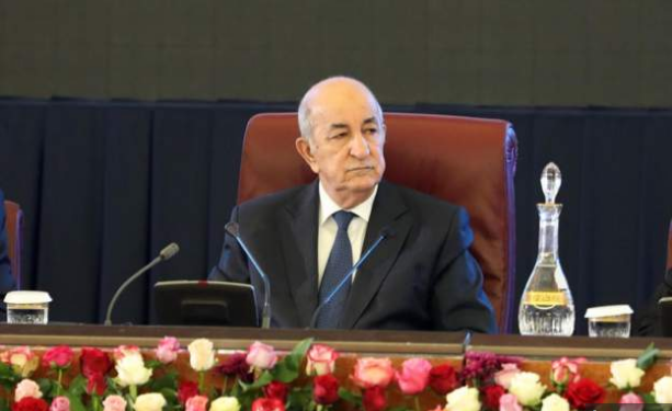 President Abdelmadjid Tebboune was flown to Germany in late October