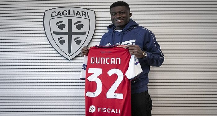 Duncan joined the Islanders on a loan deal from Fiorentina over the weekend