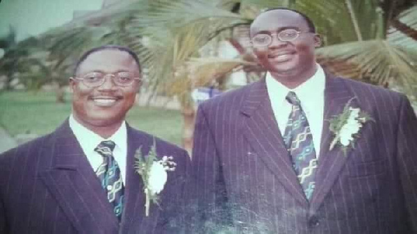 Dr Mahamadu Bawumia and Prof. Kenneth Agyeman Attafuah in 1999