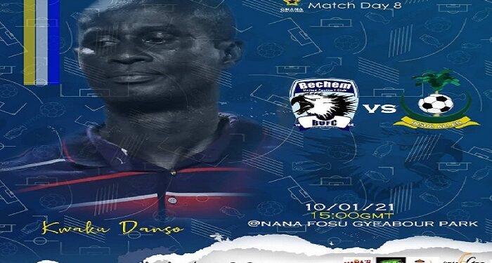 Bechem United will hope to redeem itself from its massive loss in the hands of Hearts of Oak