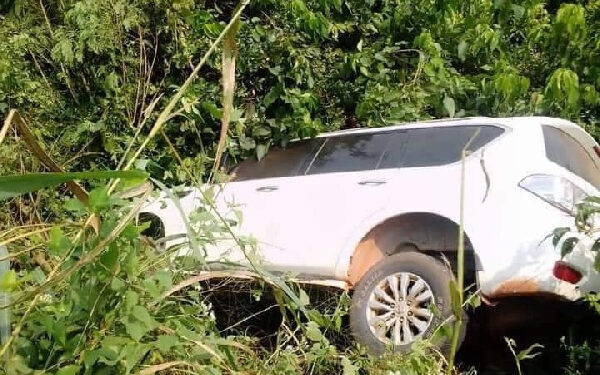 MP for Sefwi Akontombra was involved in an accident