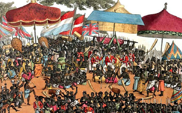 The Ashanti were between the 15th & 19th century having enormous wealth and dominance over trade
