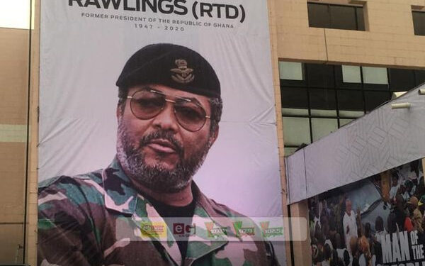 The funeral of former President Jerry John Rawlings started on January 24, 2020
