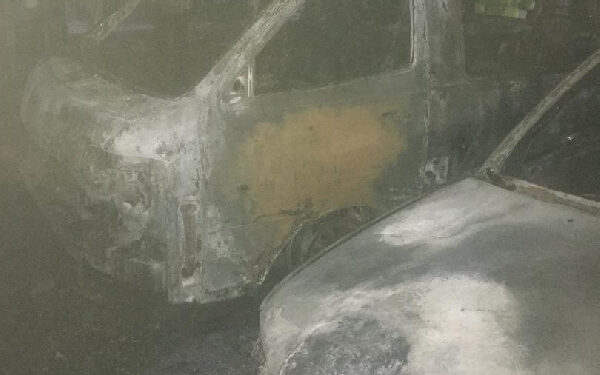 The vehicles were destroyed in a fire that broke out at a fuel station at Kaase