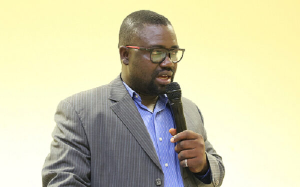 Dr. Benjamin Otchere-Ankrah, a lecturer of the Central University in Accra