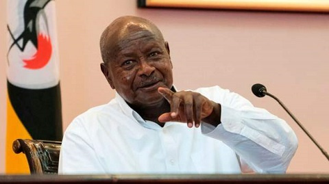 President Museveni defended the blackout