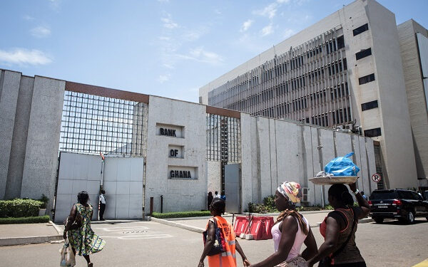 The Bank of Ghana Headquaters [Credit Bloomberg]