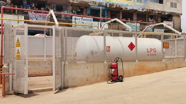 EPA has directed Managers of the Kejetia Market to stop gas operations