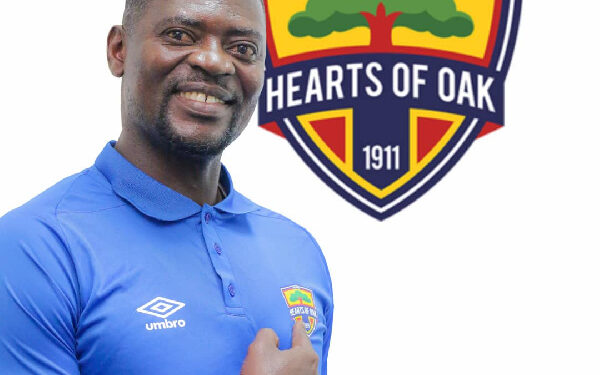 Hearts of Oak coach Samuel Boadu