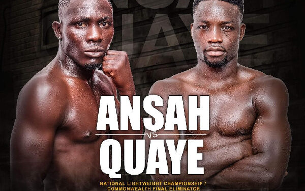 Michael Ansah and Sherrif Quaye will be meeting in the ring