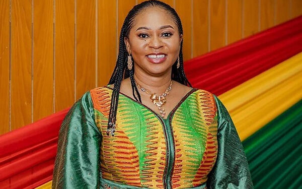 Sarah Adwoa Safo is Minister for Gender, Children and Social Protection