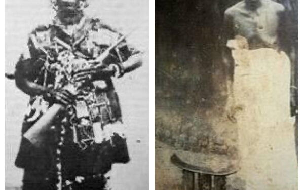 The old and new faces of the Ashanti warrior, Yaa Asantewaa