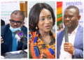 Charles Adu-Boahen, Abena Osei-Asare and John Kumah have been nominated