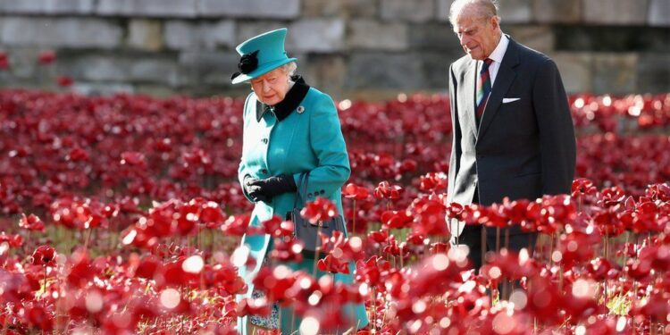 In public, Prince Philip always took second place