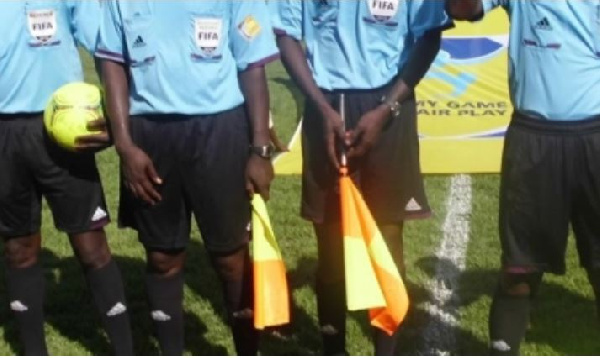 Referee Gabriel O. Arhin has been punished by the GFA